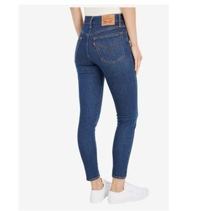 Levi's high rise wedgie skinny jeans NWT 27